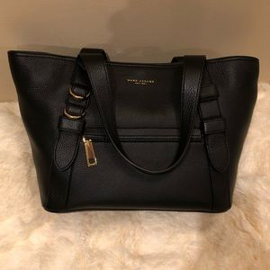Marc Jacobs black leather tote NWT and only $240!!